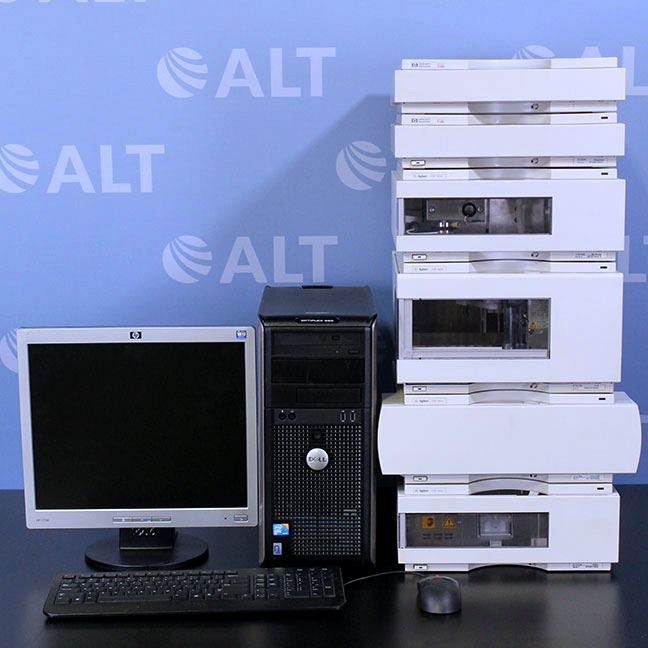 Agilent 1100 Series HPLC System with G1314A VWD Image