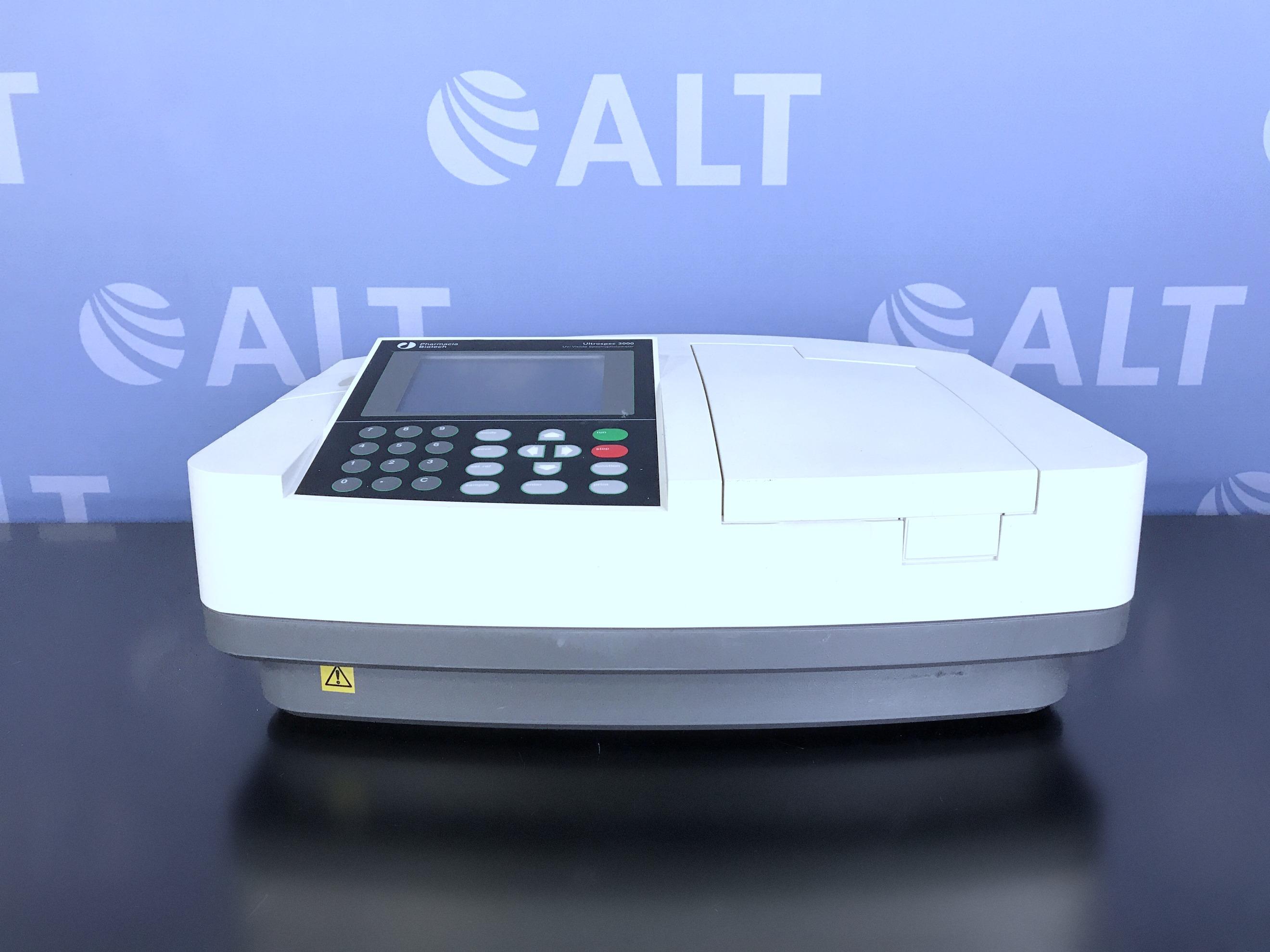 Pharmacia Biotech Ultrospec 3000 UV-Visible Spectrophotometer P/N  80-2106-20 Image
