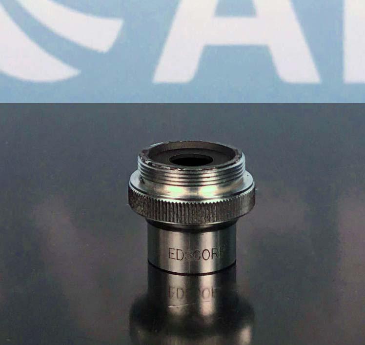 Edscorp 5X 0.10 Microscope Objective Image