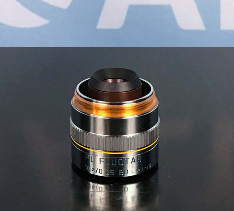 Leica 566018 PL Fluotar 10x/0.25 BD Microscope Objective Image