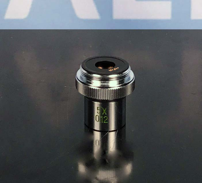 Bausch & Lomb 5x/0.12 Microscope Objective Image