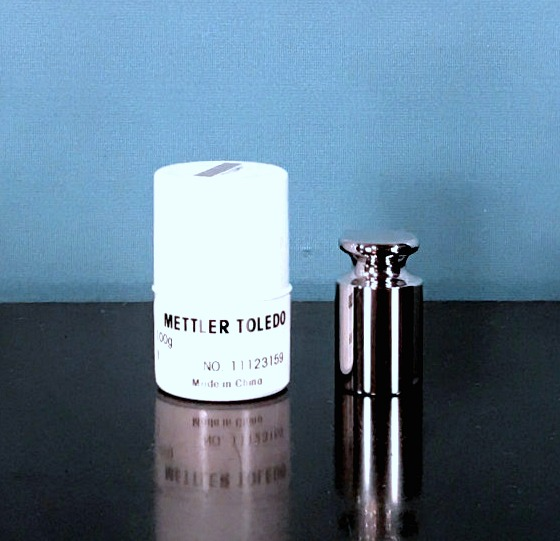Mettler Toledo CarePac Customized 3rd Weight ASTM Class 1 100 mg Weight Image