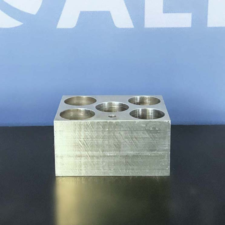 VWR 5 x 50 mL Modular Heating Block for Conical-Bottom Centrifuge Tubes  Image