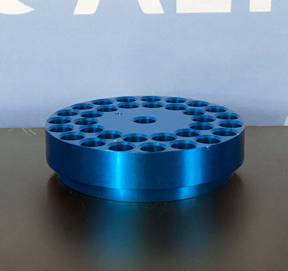 Chemglass Aluminum  Reaction Block Image