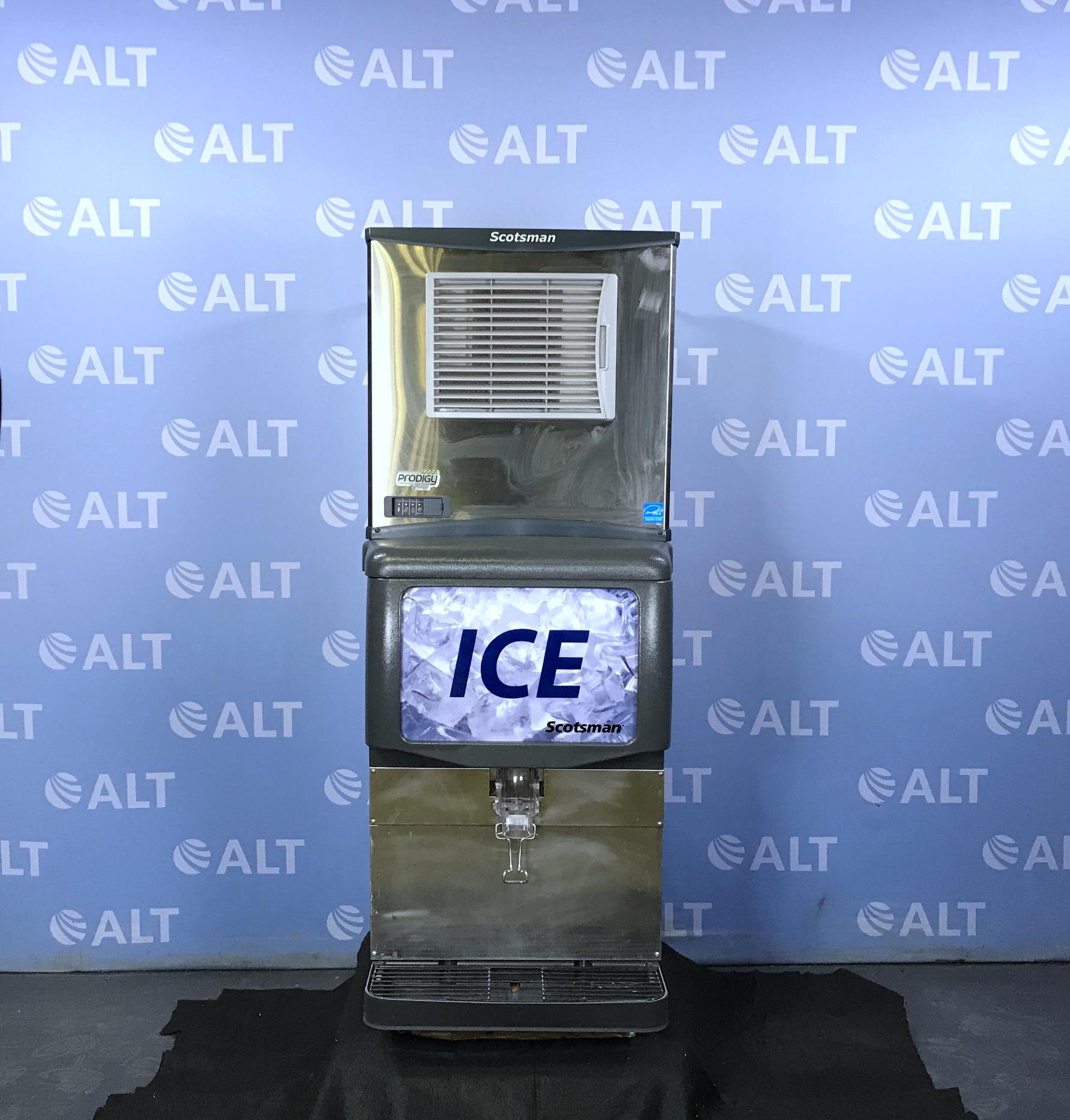 Scotsman Prodigy Plus Ice Maker Model 1D150B-1A Image