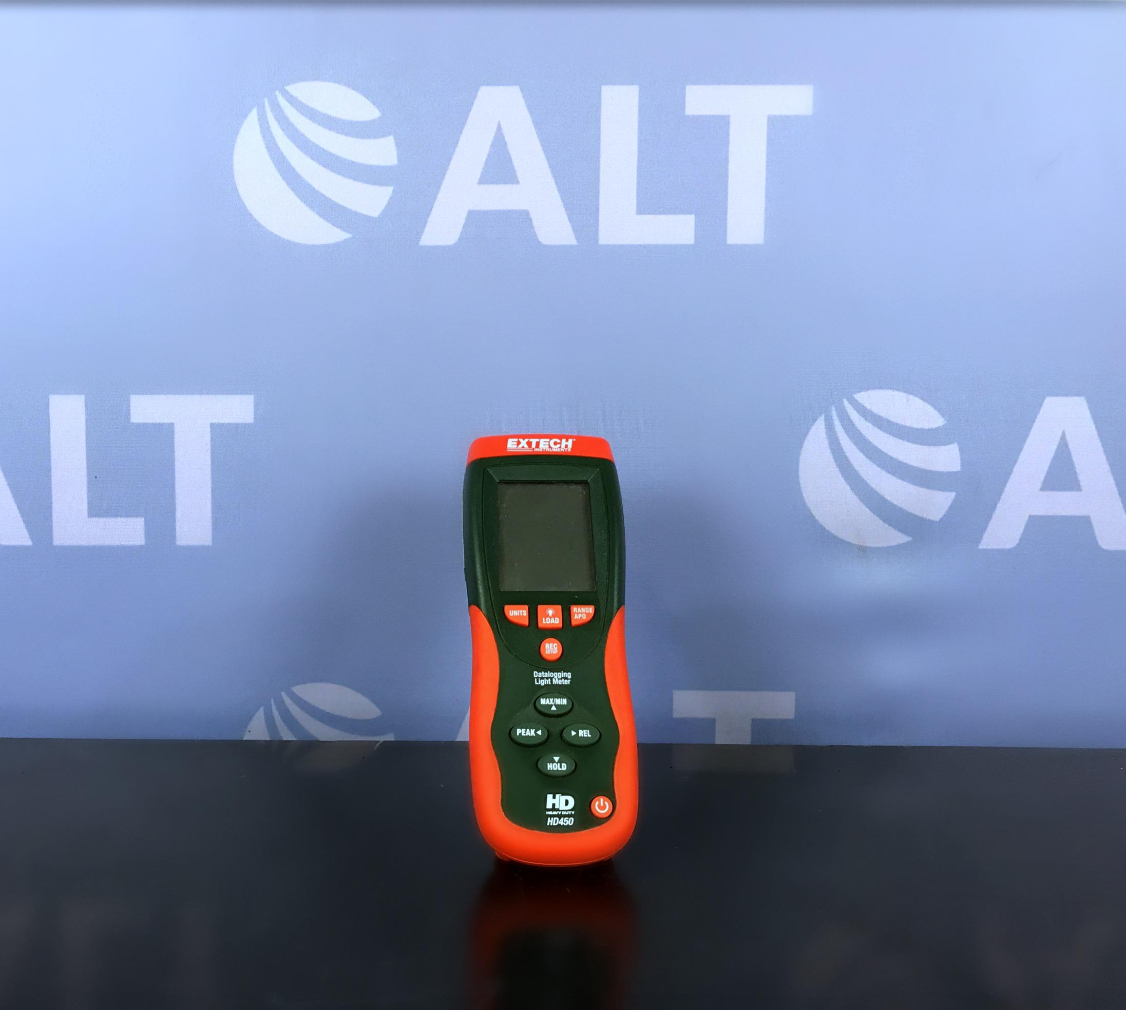 Extech Instruments HD450 Heavy Duty Datalogging Light Meter Image