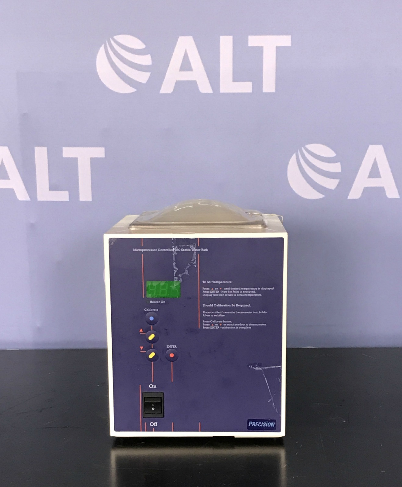 Precision Microprocessor Controlled 280 Series Water Bath, Model 281, Cat. 2829 Image