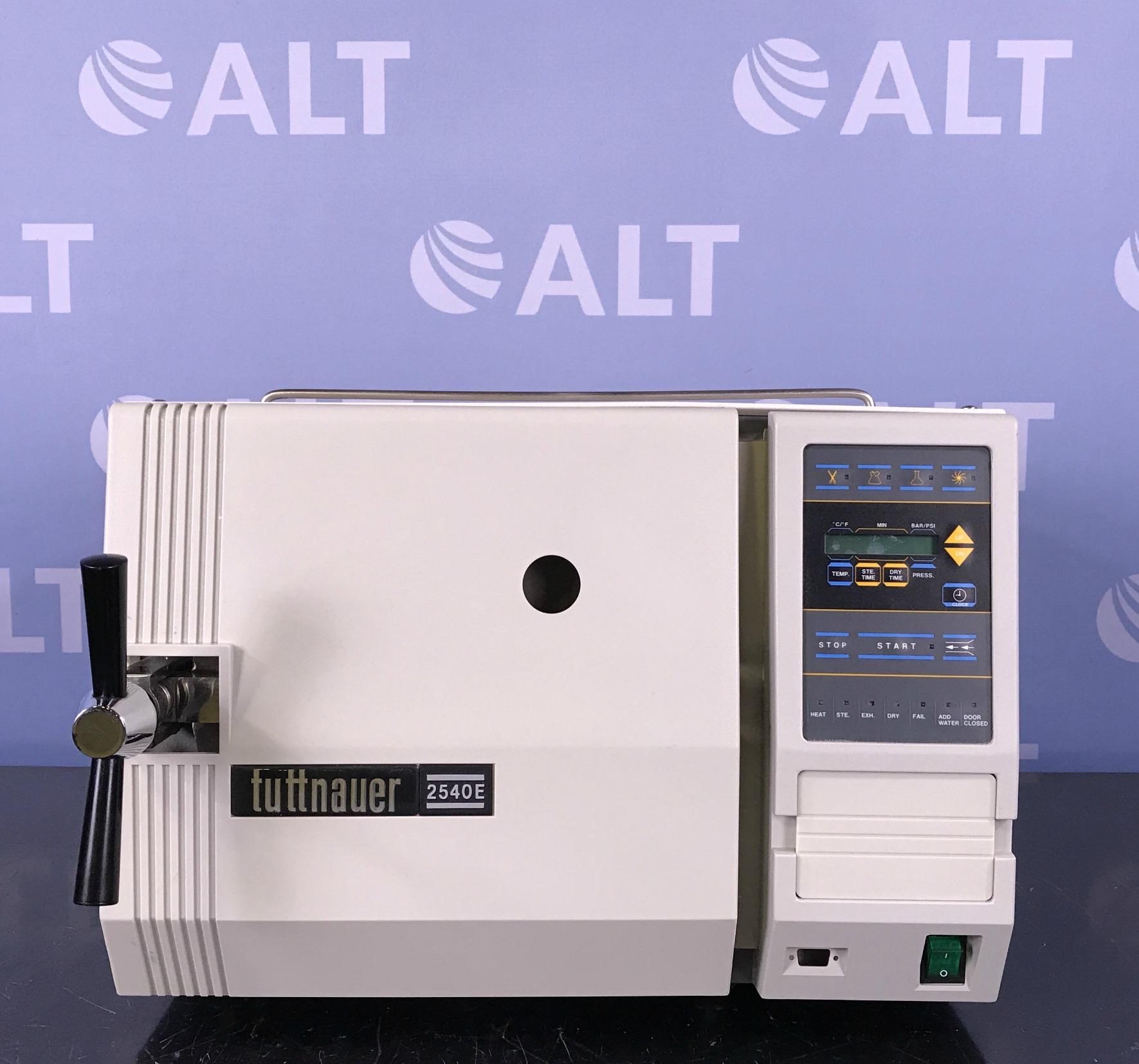 Tuttnauer 2540E Tabletop Digital Autoclave Image