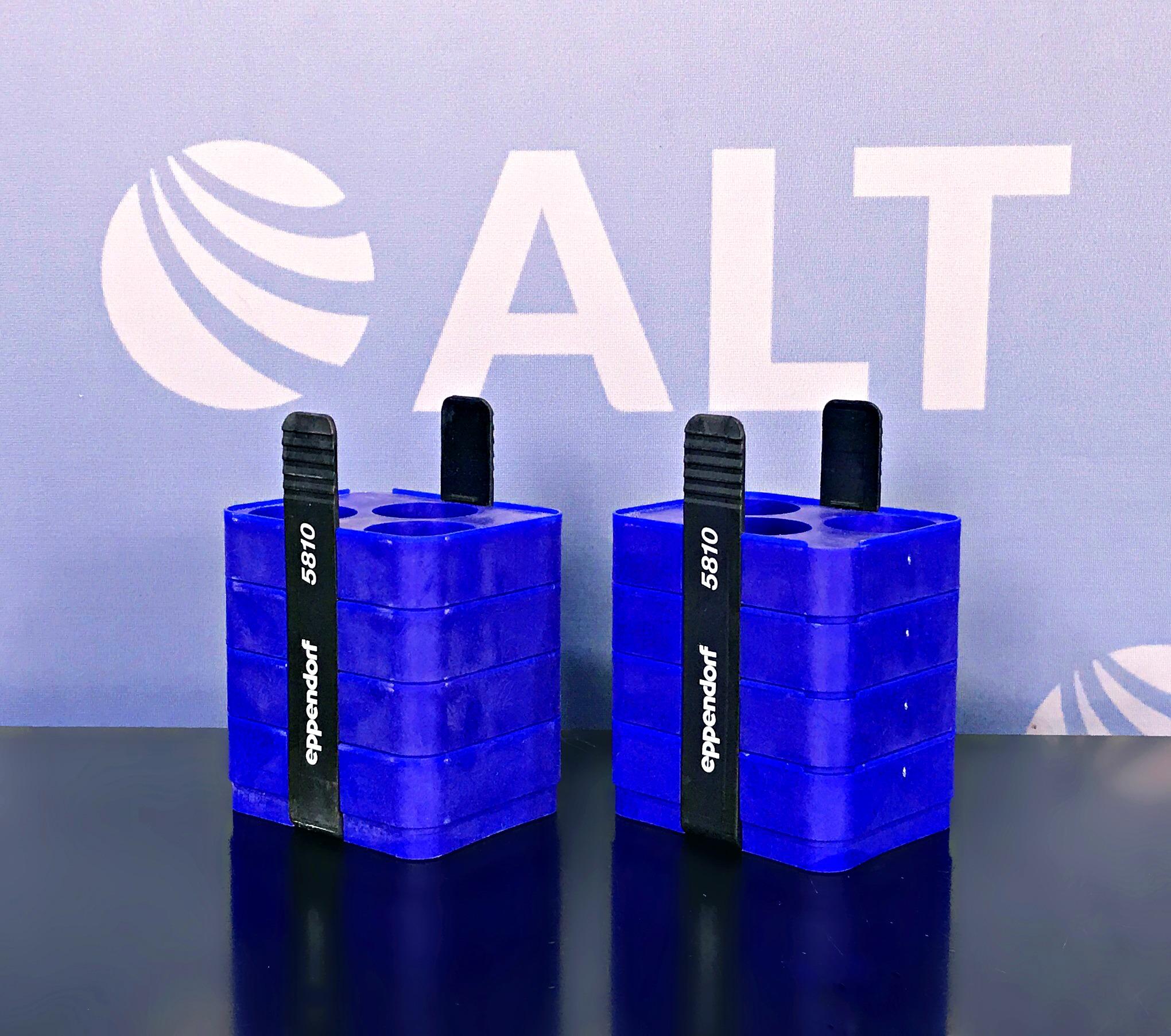 Eppendorf 5810 (3) Tube Slot Adapter for 250 mL Rectangular Bucket. 31mm: Conical Bottom (Set of 2) Image