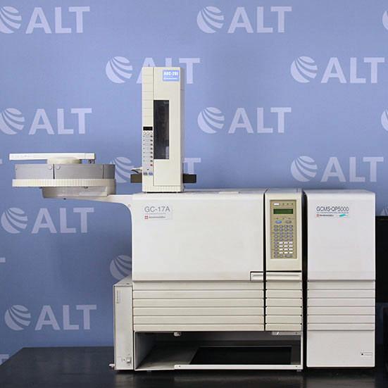 Shimadzu GCMS-QP5000 Benchtop Mass Spectrometer System Image