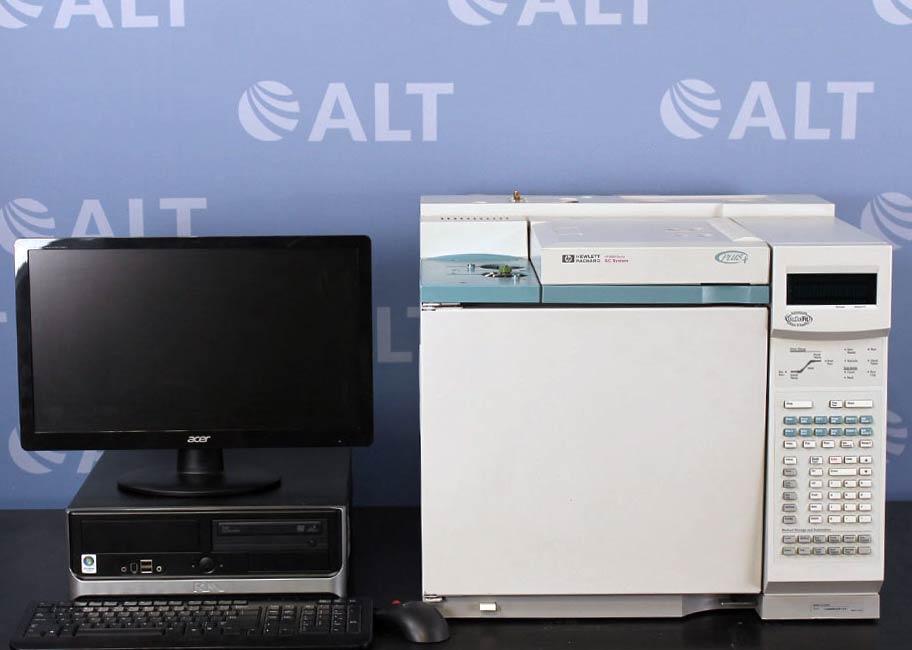 Agilent 6890 (G1530A) Plus Gas Chromatograph GC Image