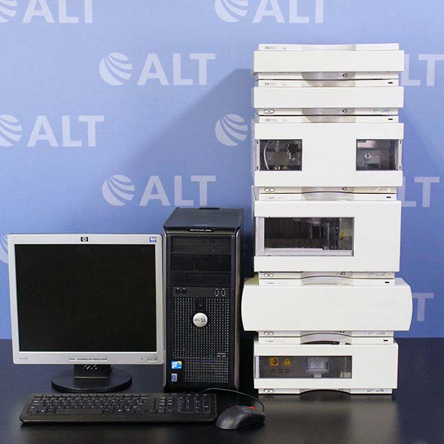 Agilent 1100 Series HPLC System with G1315A DAD Detector and G1312A Binary Pump Image
