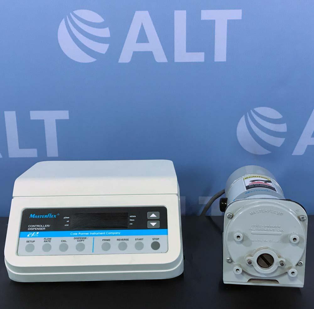 Cole-Parmer Masterflex L/S Controller/ Dispenser Pump System w/ Controller & Pump Image