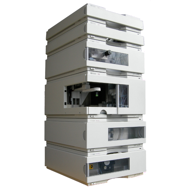 Agilent Factory Refurbished 1100 Series HPLC System with G1312A, G1315A, G1313A, G1316A & G1322A Image