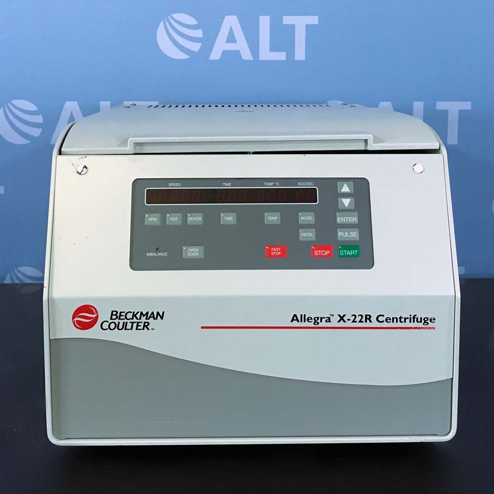 Beckman Coulter Allegra X-22R Refrigerated Benchtop Centrifuge Image