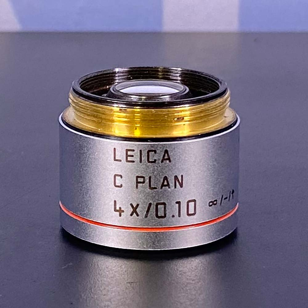 Leica C Plan 4x/0.10 Microscope Objective Image