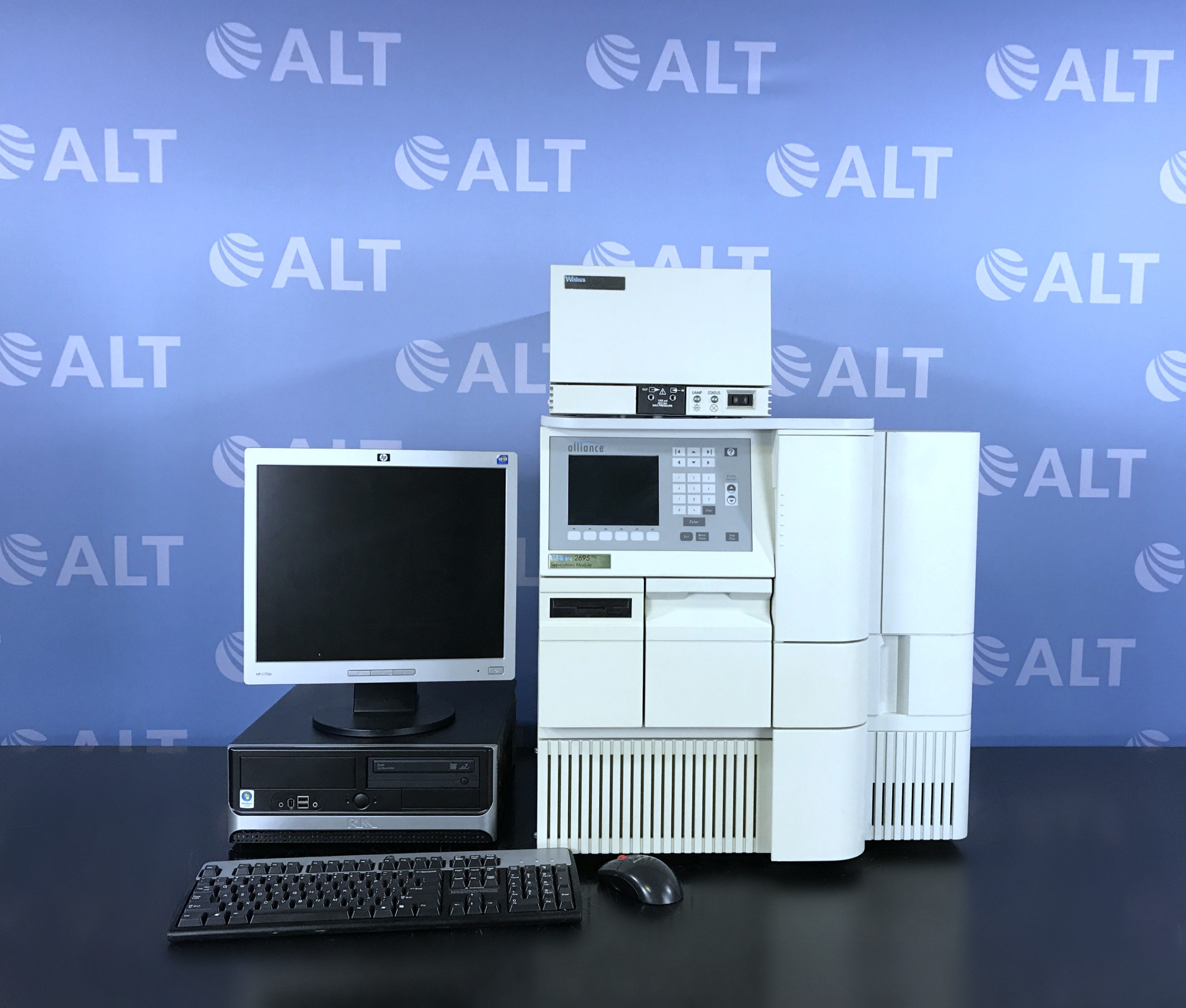 Waters Alliance 2695 HPLC with 2996 Photo Diode Array Detector Image
