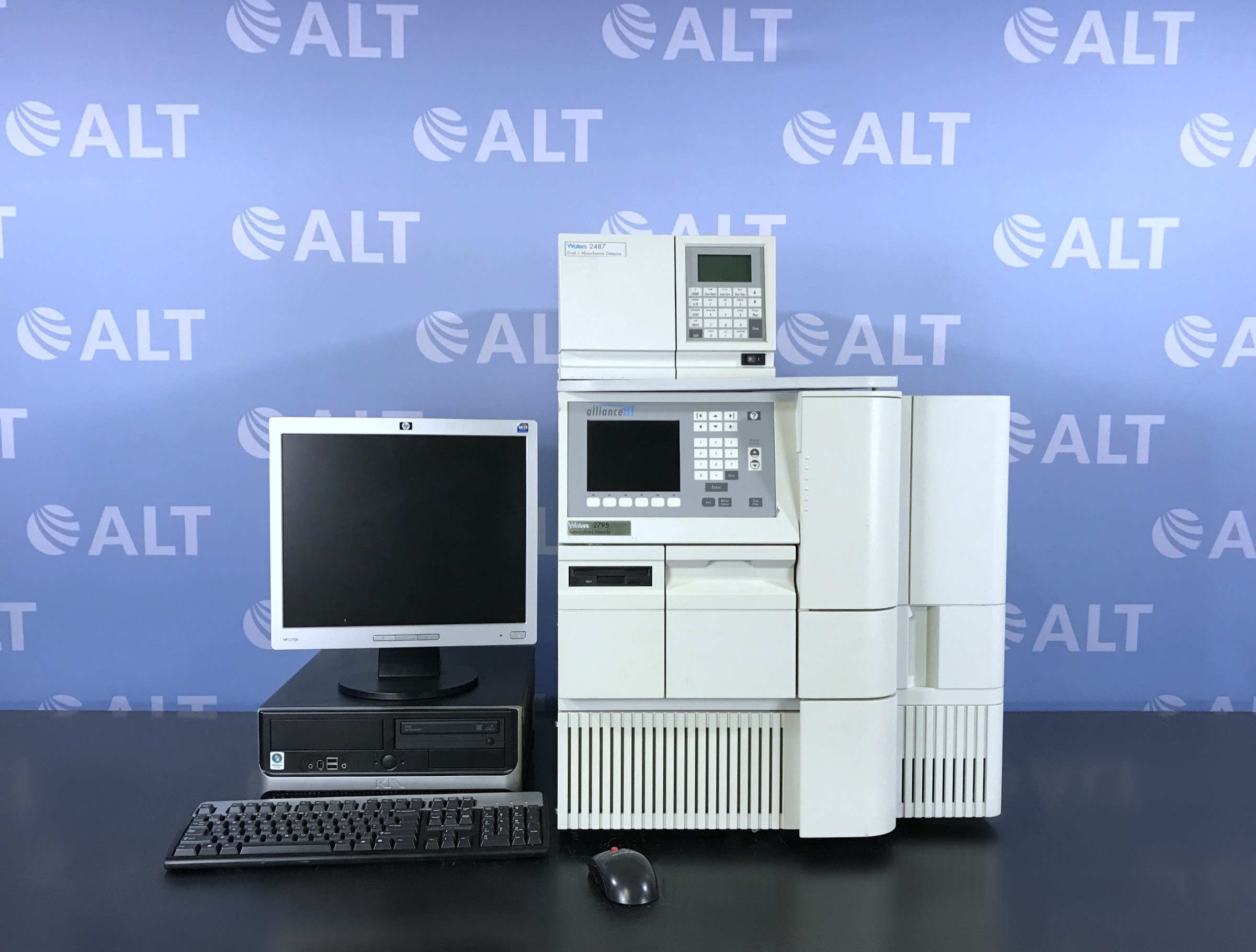 Waters Alliance 2795 HPLC with 2487 Dual Absorbance Detector Image