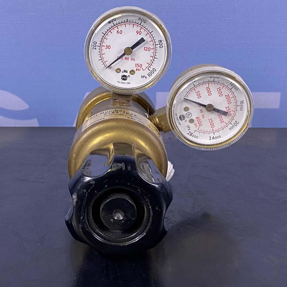 Agilent Multi-Stage Hydrogen Gas Regulator, P/N 5183-4642 Image