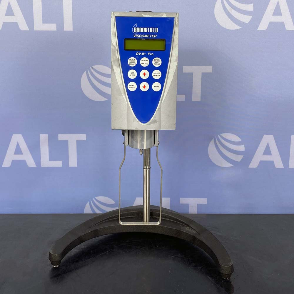 Brookfield DV-II+ Programmable Viscometer LVDVII+ with Stand Image