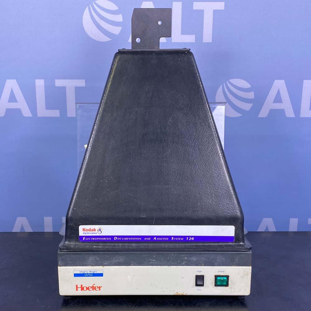 Hoefer Scientific UVTM-25 Transilluminator with Kodak EDAS 120 Image