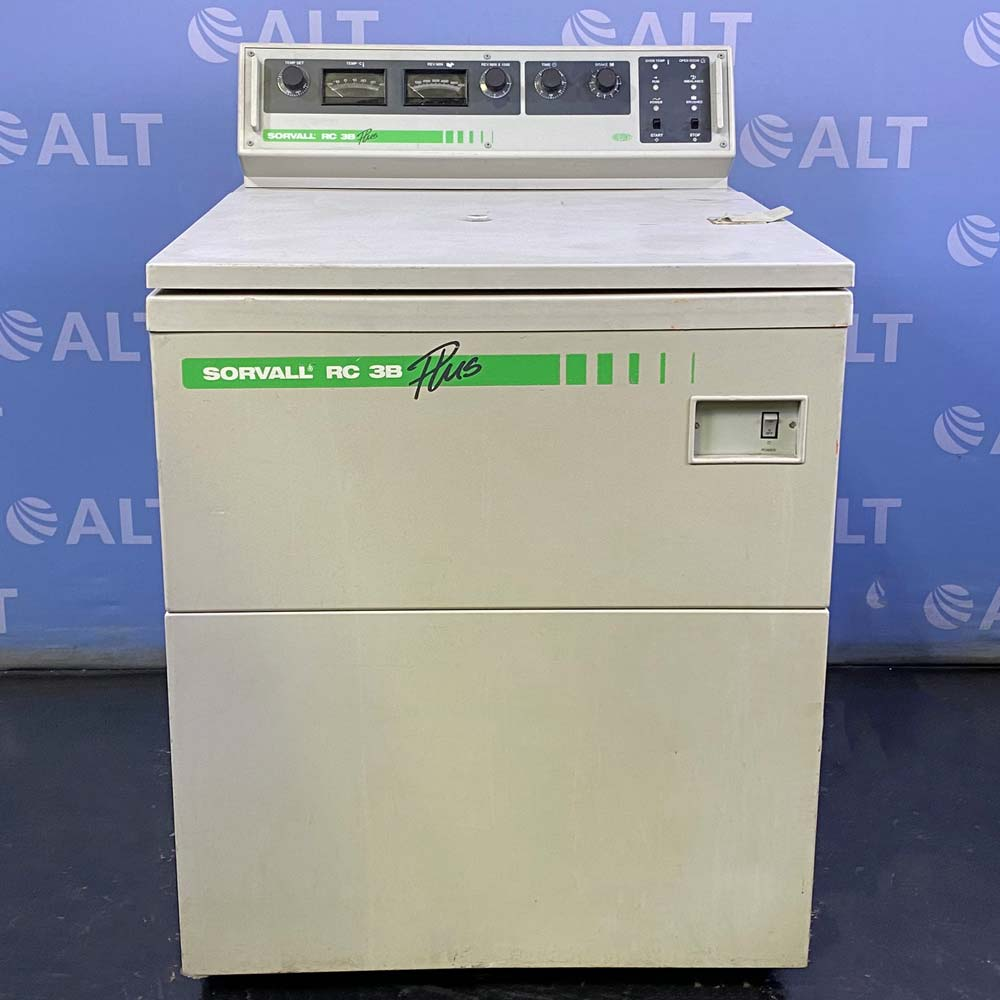 Sorvall RC-3B Plus Lowspeed Refrigerated Centrifuge Image