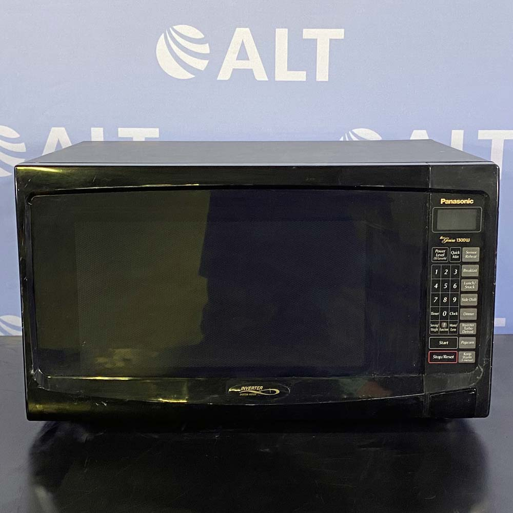 Panasonic 1300W Microwave with Inverter System, Model NN-S962BF Image