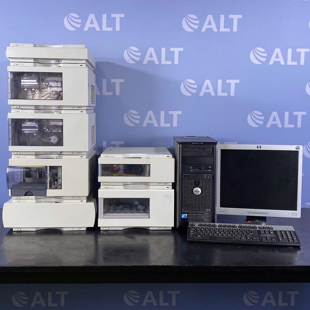 Agilent 1100 HPLC Prep System Image