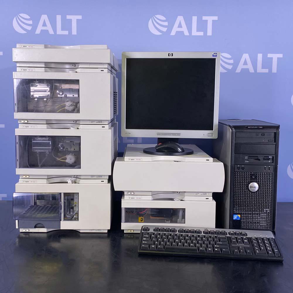 Agilent 1100 Series Prep HPLC System Image