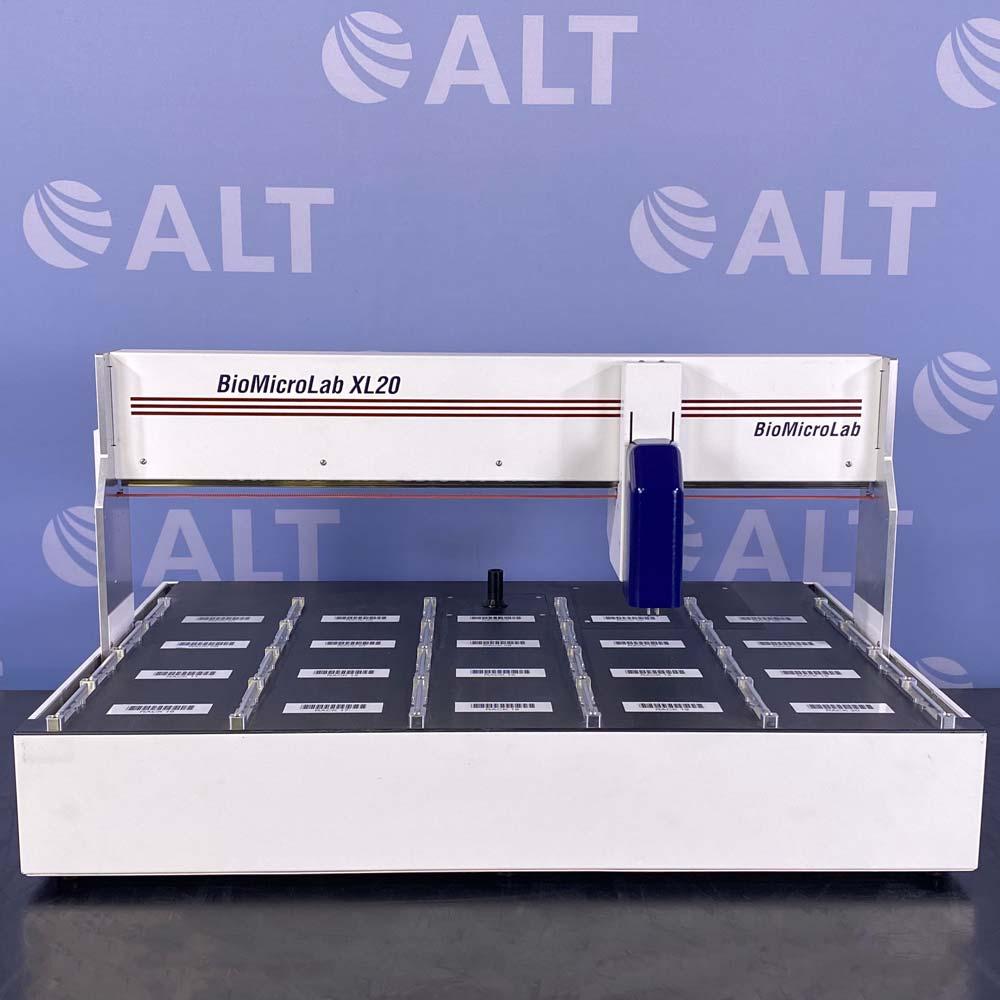 BioMicroLab XL20 Benchtop Robotic Tube Handler Image
