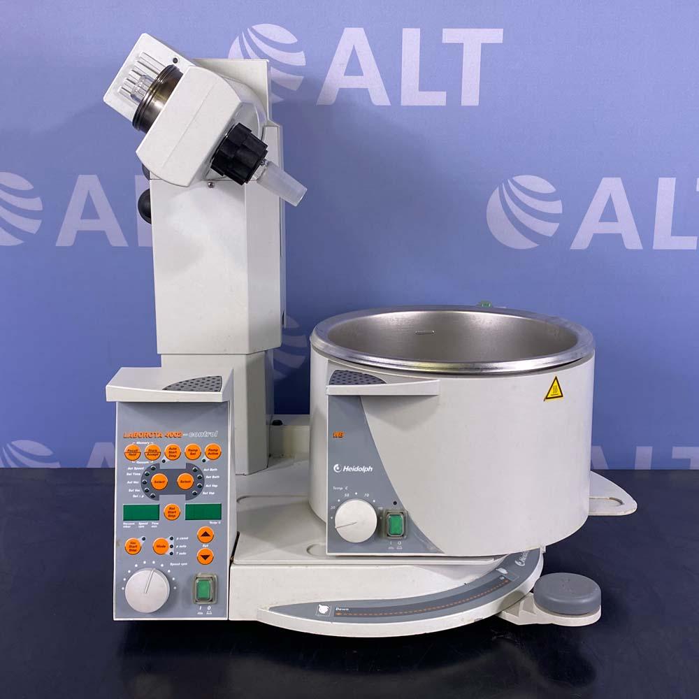 Heidolph Laborota 4002 Rotary Evaporator with Vacuum Sensor and Water Bath Image