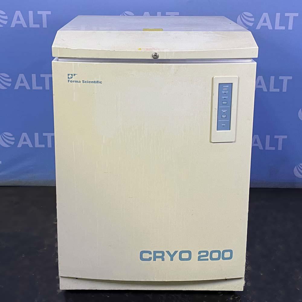 Thermo Forma Cryo 200 Cryogenic Liquid Nitrogen Storage System Model 742 Image