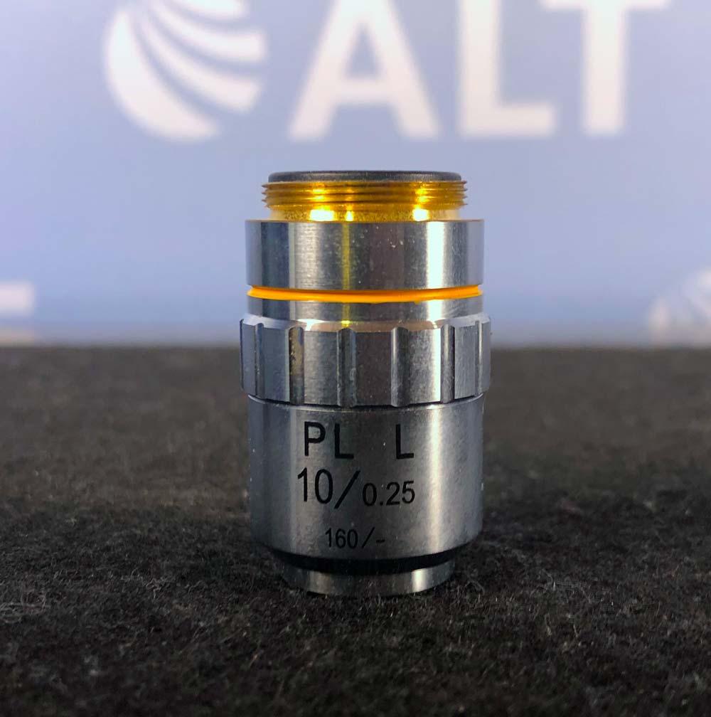 Nikon PL L 10/0.25 160/- Microscope Objective Image