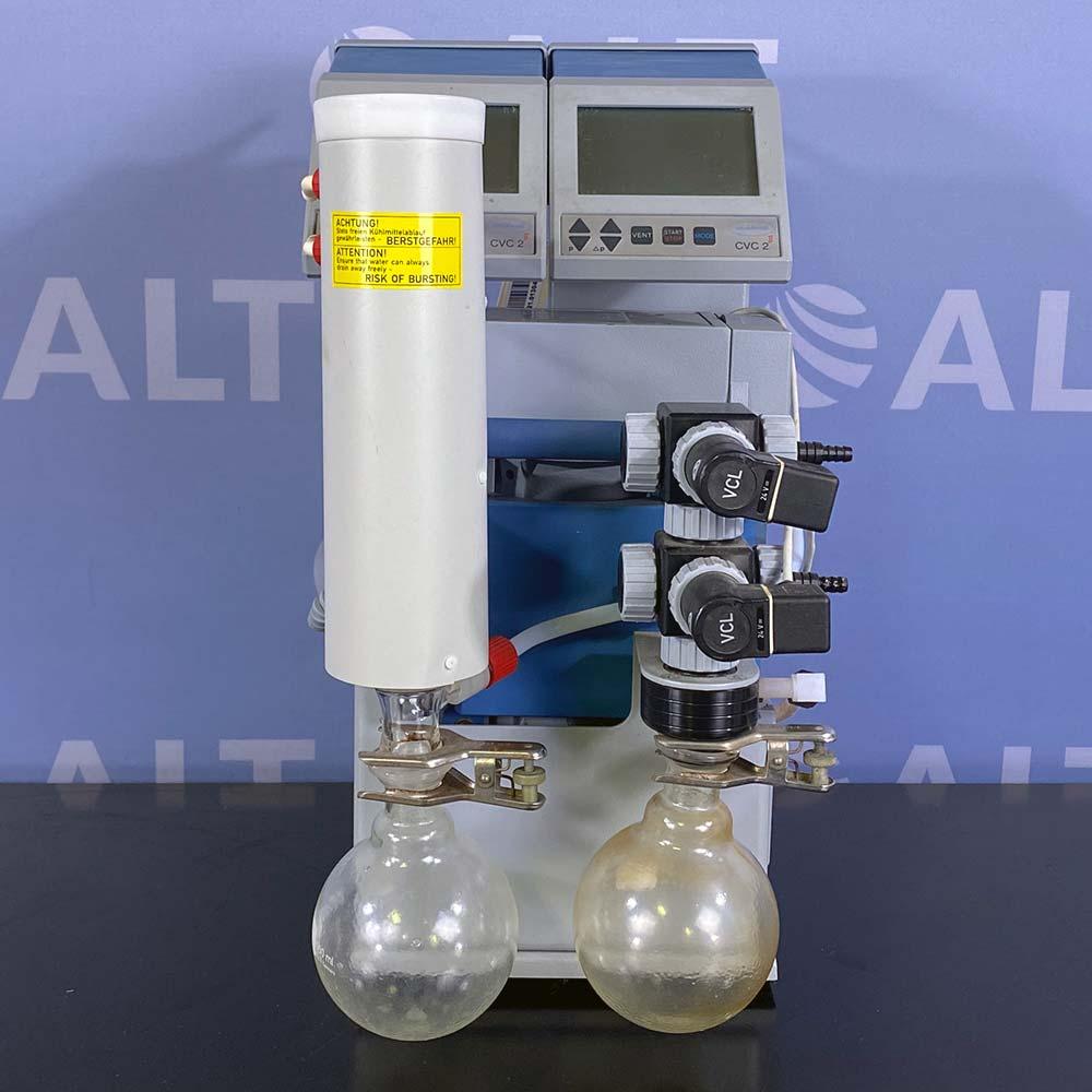 Vacuubrand MD 4C Diaphragm Vacuum Pump with (2) CVC 2 II Vacuum Controllers Image