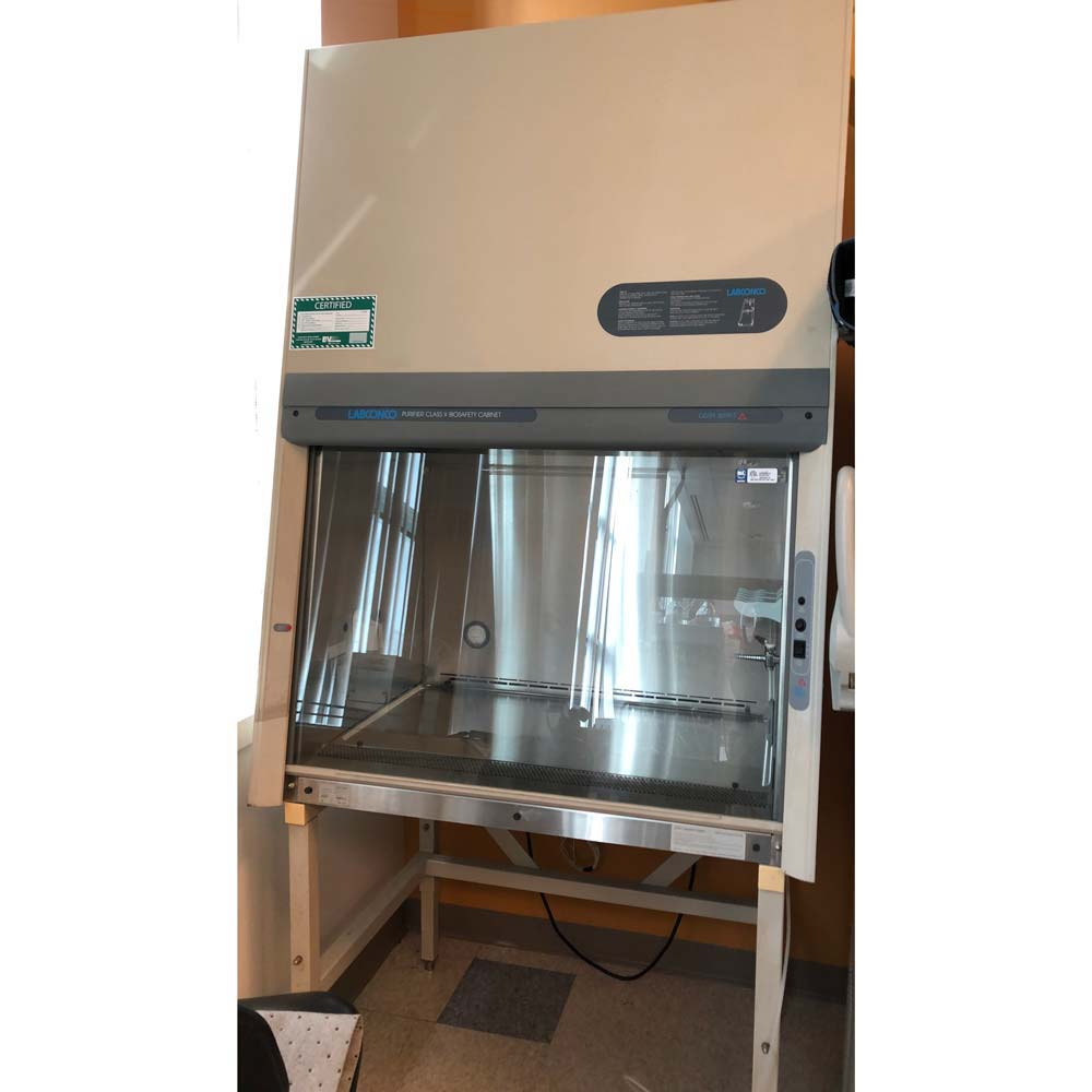 Labconco 3' Purifier Delta Series Class II Type A/B3 Biological Safety Cabinet Image