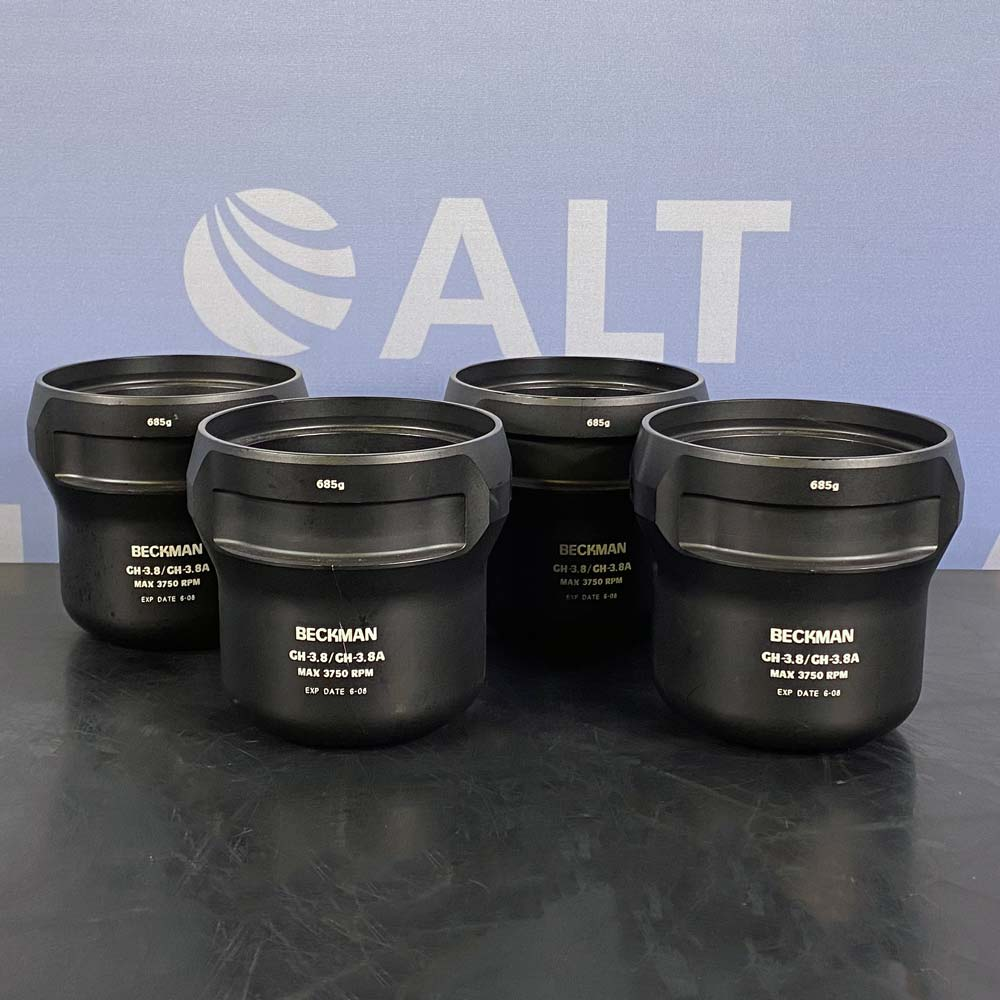 Beckman Coulter GH-3.8/GH-3.8A Swinging Rotor Buckets, Set of 4 Image