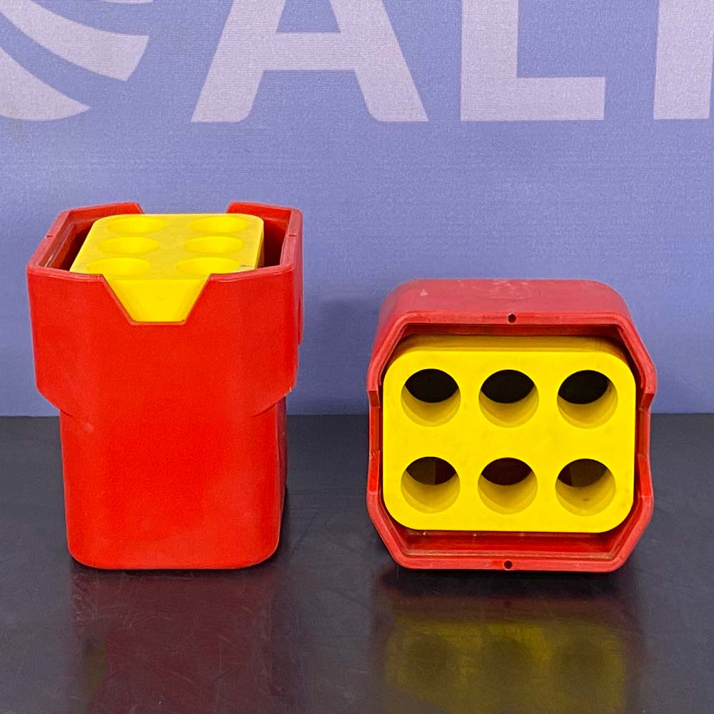 Hettich Rotor Buckets, No. 5091, With 6 Place Inserts (Pair) Image