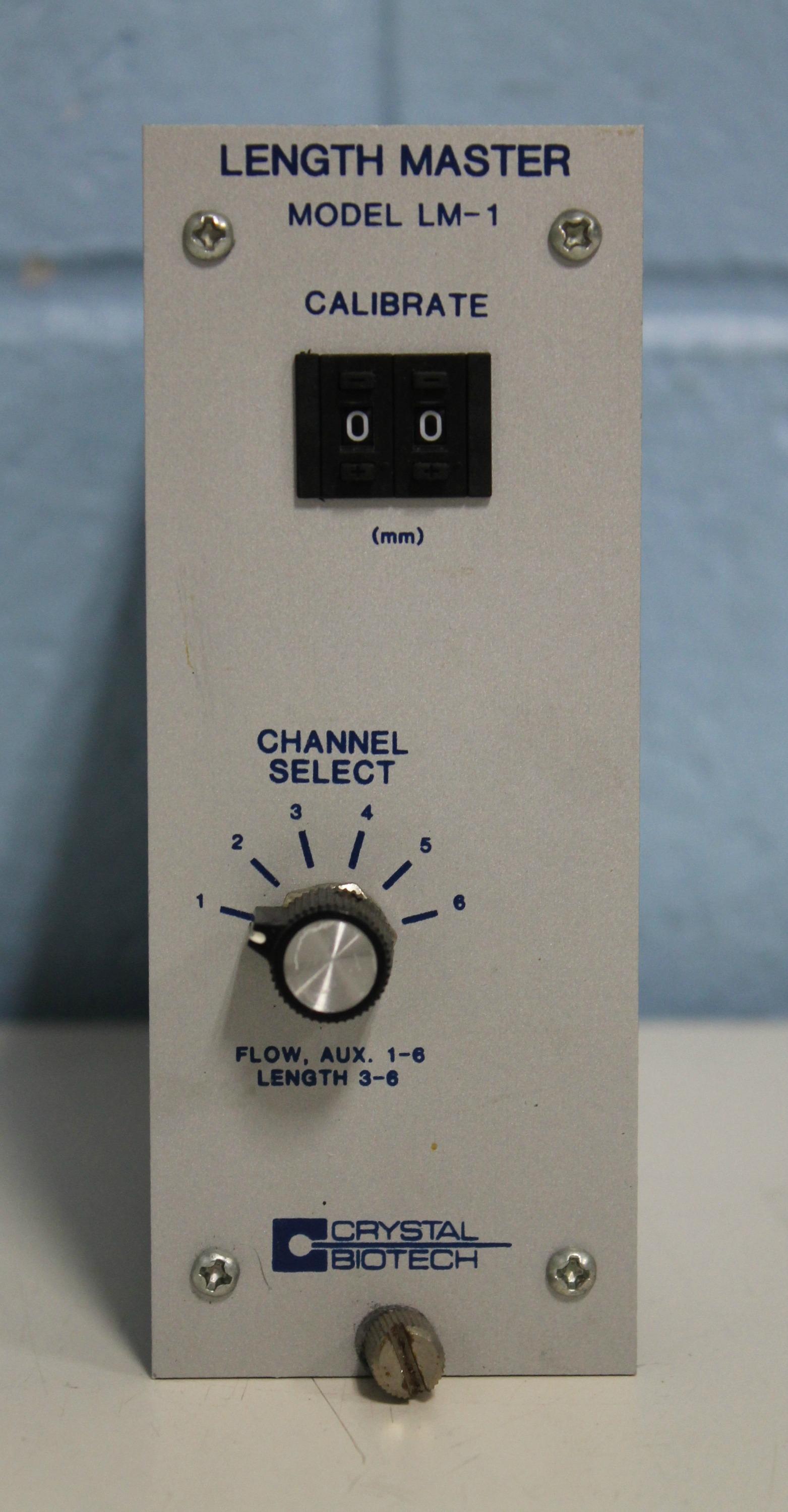 Crystal Biotech Length Master Model LM-1 Image