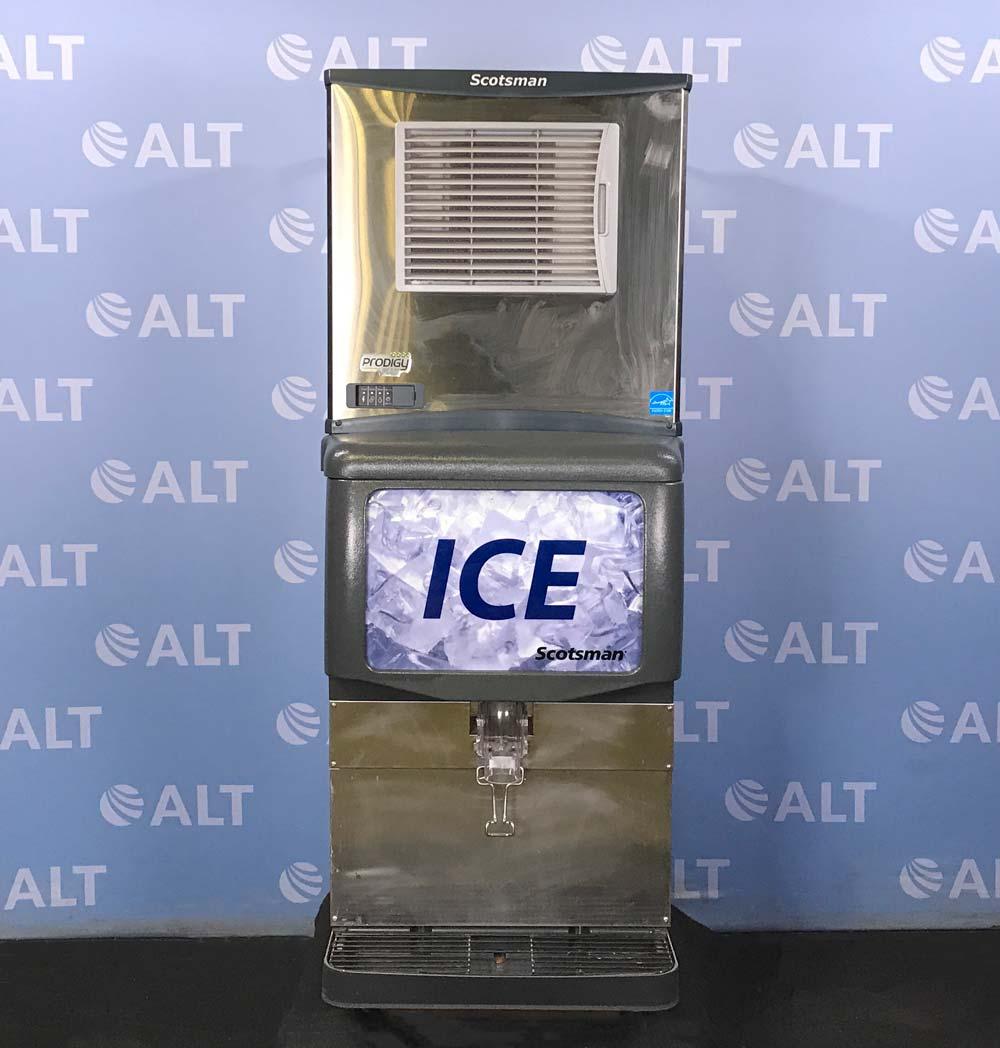 Scotsman Prodigy Plus Ice Maker Model ID150B-1A Image