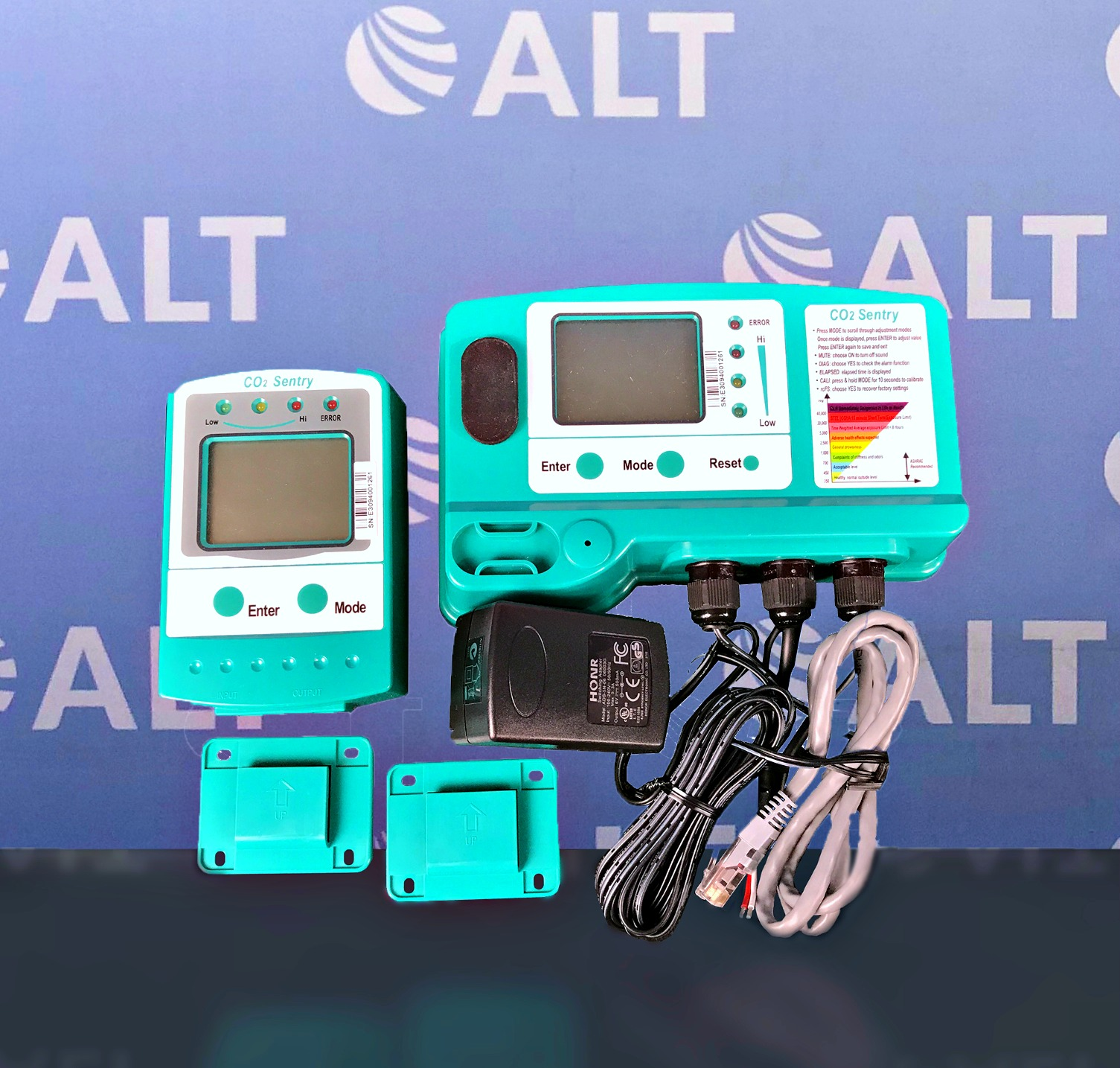 Airgas  Sentry CO2 Ambient Gas Detector with Remote Display Unit Image