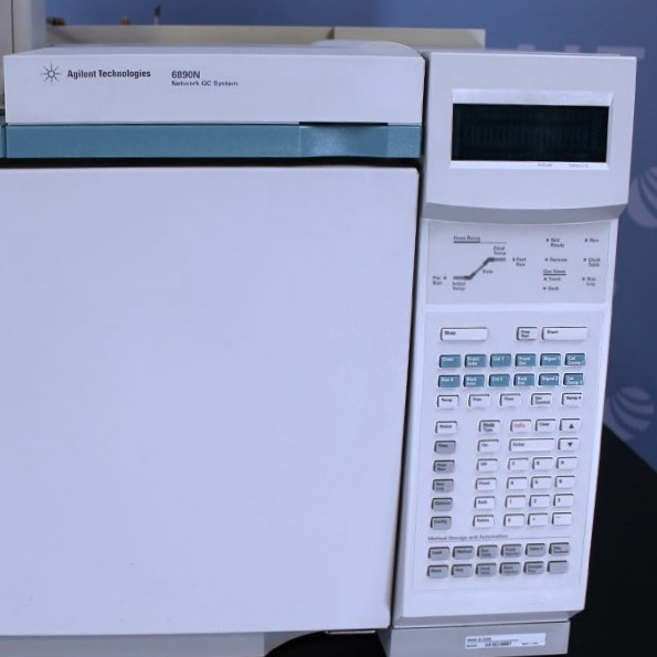 Agilent GC/MS with 6890 GC and 5973 MSD Image