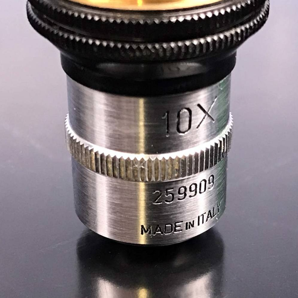 Officine Galileo 10X Microscope Objective Image