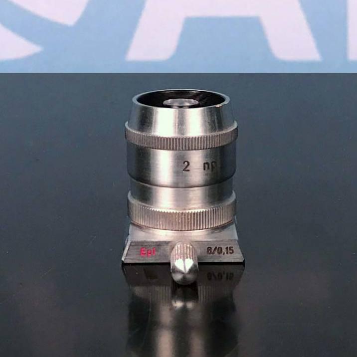 C.Reichert Wien Microscope Objective, Epi 8/0.15 250/2 2 np Image