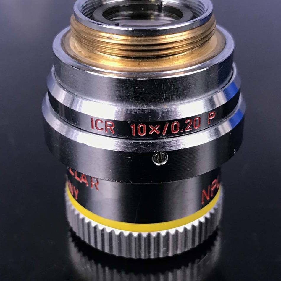 Leitz NPL 10x/0.20 Objective with a Leitz ICR 10X /0.20 P DIC Prism Image