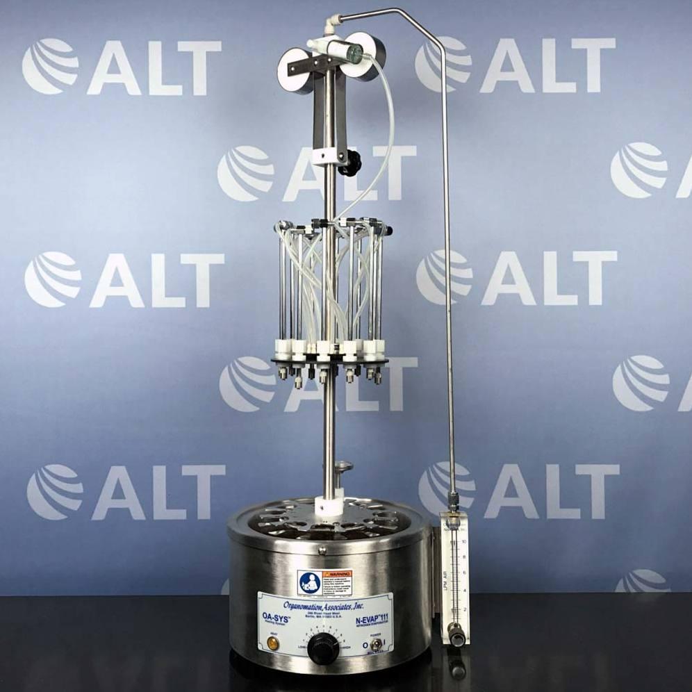 Organomation Associates 12 Position N-EVAP 111 OA-SYS Nitrogen Evaporator  Image