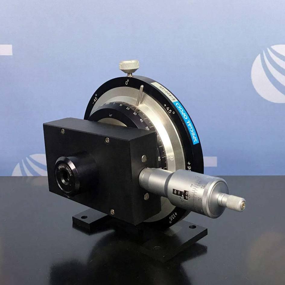 Special Optics Model 8-400-IR Soleil-Babinet Compensator 200 - 2700 nm Image
