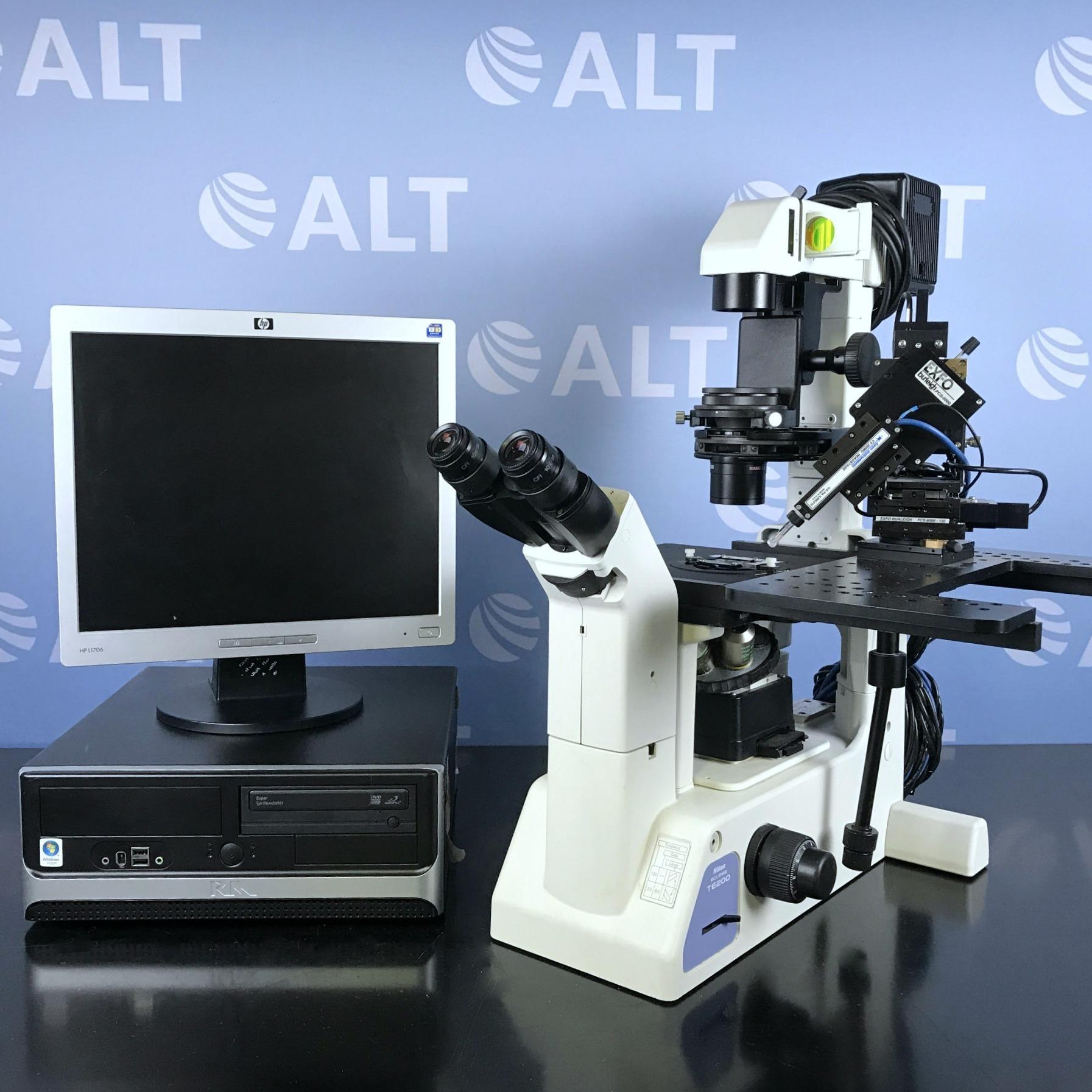 Eclipse TE200 Inverted Microscope Name