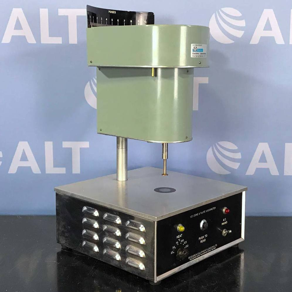 Research Equipment Ltd I.C.I. Cone & Plate Viscometer Image