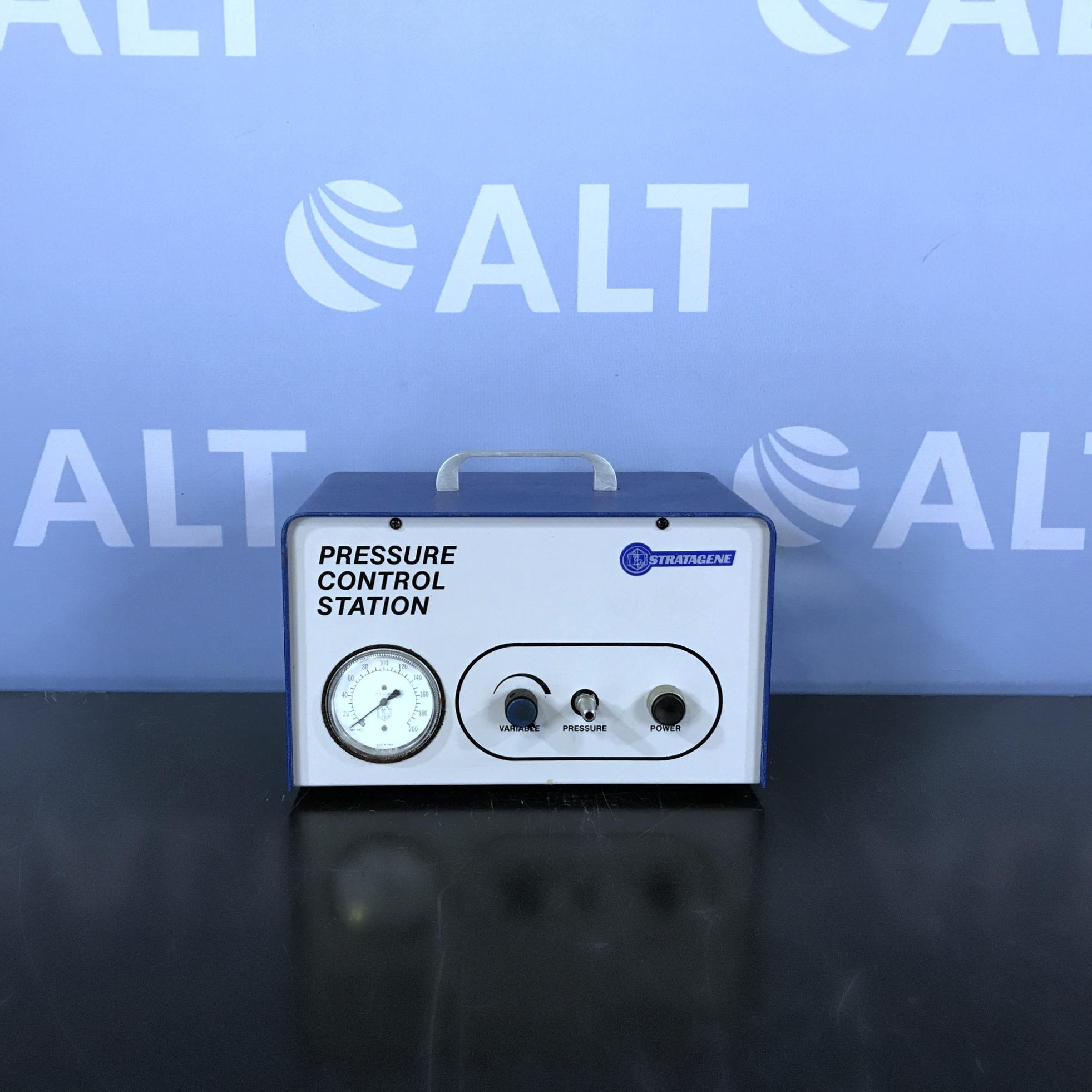 Pressure Control Station Name