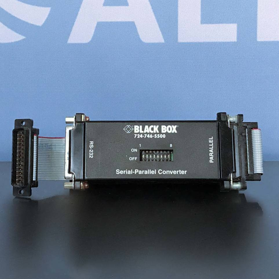 Black Box Serial-Parallel Converter Image